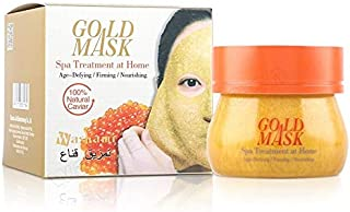 Washami Gold Mask with Natural Caviar, Spa Treatment at Home, 160g