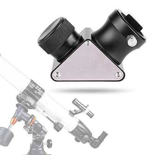 Tangxi Specchio Diagonale, Adattatore Diagonale per Specchio Dielettrico a 90 Gradi da 1,25 Pollici per Accessori per Oculari Telescopici