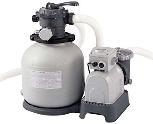 Intex Krystal Clear Sand Filter Pump - Poolreinigung - Sandfilteranlage - 10,5 m³ - 220-240V (W/RCD)