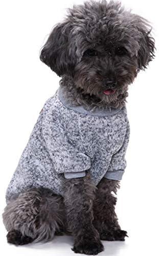 CHBORLESS Pet Dog Classic Knitwear Sweater Warm Winter Puppy Pet Coat Soft Sweater Clothing product image