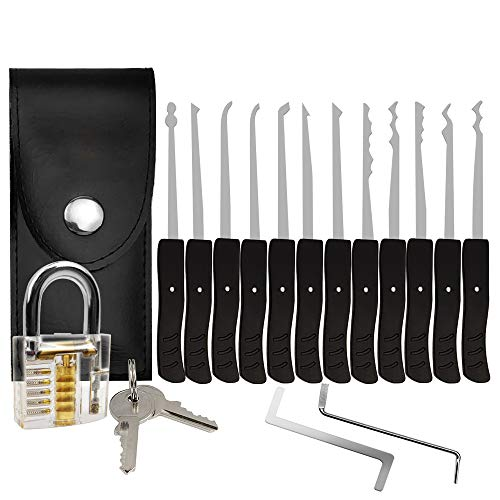 MZG-story Strong Pick and Hook Set,24-Piece(Lock Included)