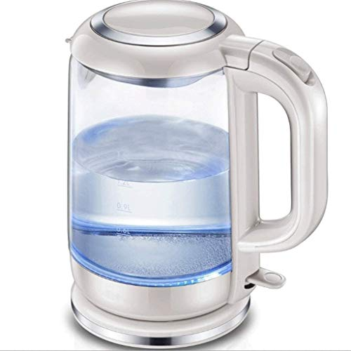 ZJDECR Electric Kettle 1800W Fast Verwarming Ketels Electric, 1.5L Illuminating LED Cordless Glass Jug Kettle, BPA-vrij waterkoker dsnmm