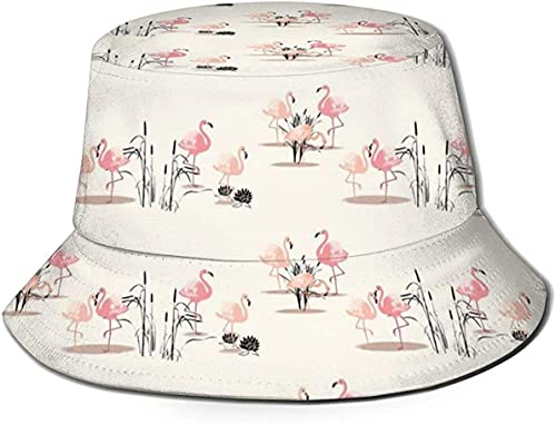 balderdash01 Sombreros de cubo unisex congelado árbol en el lago cubo sombrero de verano pescador sombrero de la cara subir-un tamaño superior plana transpirable