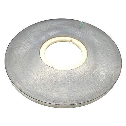 Ztengyu-Varillas para soldar Hojas de Tira de la Correa de la Placa de níquel de la Tira de Acero de 1kg de 1kg, para la máquina de Soldadura de la batería Equipos de Soldador, Rendimiento Estable