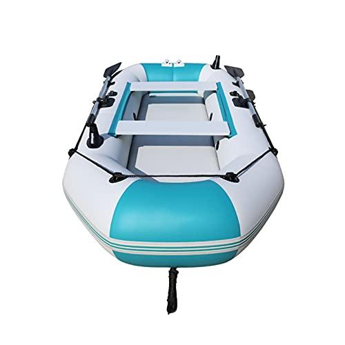 2-4 Persone Kayak Gonfiabile Adulto Conveniente Gommoni Collassabile Canoa Stabilità Comfort...