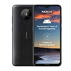 Nokia 5.3 6.55 Inch Android UK SIM Free Smartphone with 4 GB RAM and 64 GB Storage (Dual Sim) - Charcoal: Amazon.co.uk: Electronics