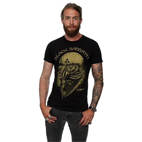 Black Sabbath Tour'78Tony Stark, t-shirt da uomo black Large