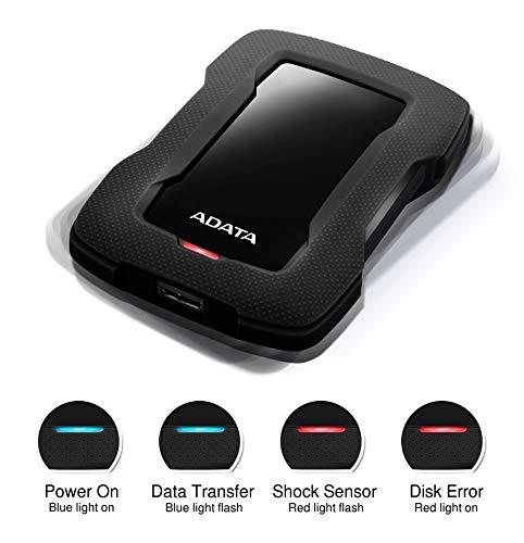 "ADATA HD330 - Disco Duro Externo (2000 GB, 2.5"", 3.0 (3.1 Gen 1), Negro) miniatura"