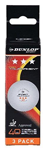 Pelotas Tenis Mesa ITF Dunlop Tournament 3 Bolas