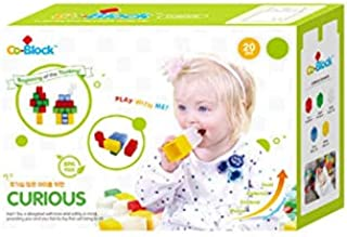 nobrand Co-Block Curious (20pcs) Building Educational Block Children Toy Gift Present