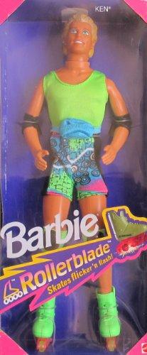 Barbie Ken Doll w Flicker 'n Flash Patines (1991)