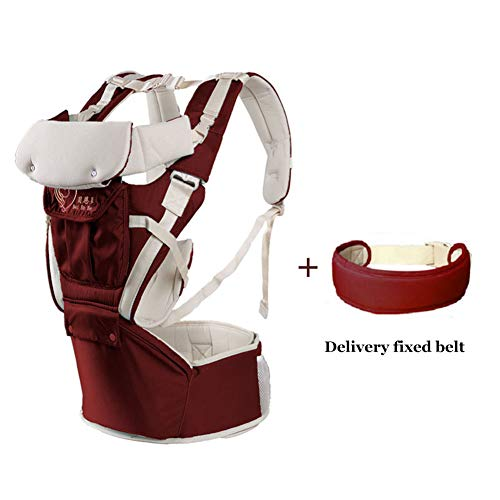360 Ergonomic Baby Carrier Soft Baby Sling Adapt to Infant Hiking Backpack Carrier for Best Baby Gift-red