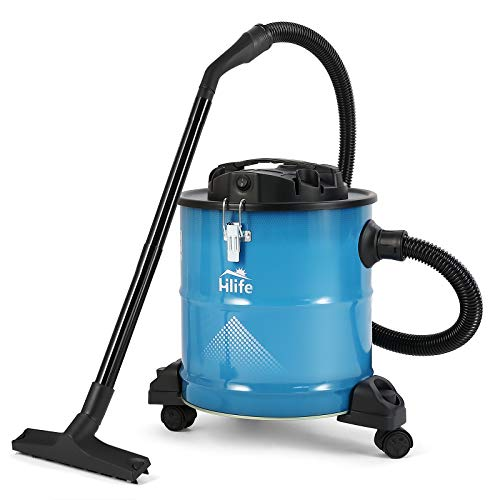 Best Buy! Ash Vacuum Cleaners 5 Gallon Tank Ash Vac-1200W 10 Amp Motor-2 Ash Filters -with Cleaning ...