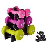 *Mancuernas *1pcs el Pes de Suport de Triangle de Fulles petites Fulles Pes de Gimnàstica Gran Suport Fitness *Gym Accessoris Equip no està Inclòs (Color : B)