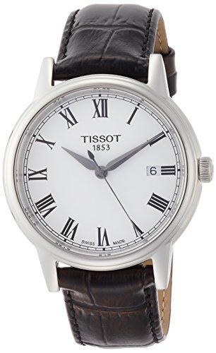 Tissot T085.410.16.013.00 - Reloj para Hombres, Correa de Cuero Color Negro