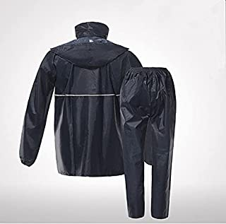 Raincoat Outdoor Raincoat Suit Oxford Cloth Split Raincoat Cycling Motorcycle Unisex (Single Layer)