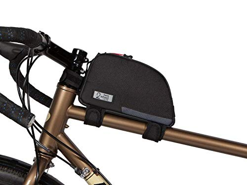 Best Prices! Two Wheel Gear Bike Frame Bag - Water Resistant Commuter Top Tube Bike Bag with Waterpr...
