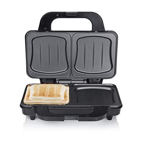 Tristar SA-3060 Sandwich Maker – Extra tiefe Grillplatten – Zwei Portionen gleichzeitig