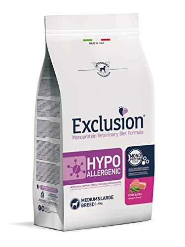 Exclusion Hypoallergenic Medium/Large Breed Schwein & Erbse12 kg