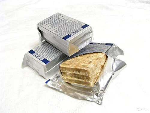 IRPRUS 72H RUSSIAN army original emergency food set of 3 rations survival military food bars 2400Kcal (3 days)
