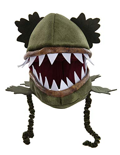 Alien Venus Flytrap Jawesome Costume Hat Mask for Adults and Kids