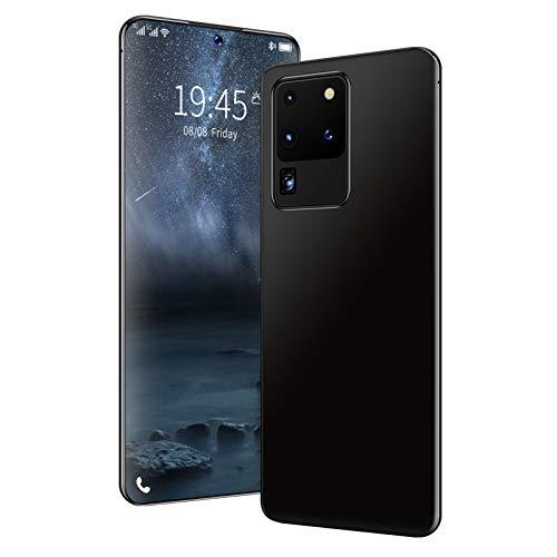 LINGZE Teléfonos móviles 4G SIM Free Desbloqueado, Dual SIM + 48MP Quad Cámara Trasera Teléfonos Móviles, Teléfonos Celulares Android 10.0 Desbloqueado 5000 mAh Batería Grande, Negro