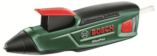 Bosch Cordless Hot Glue Gun GluePen (Micro USB Charger, 4 x Ultrapower Glue Sticks, 3.6 V Cardboard Box)
