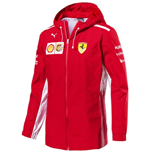 Master Lap Chaqueta Impermeable Scuderia Ferrari 2018 Equipo XXL