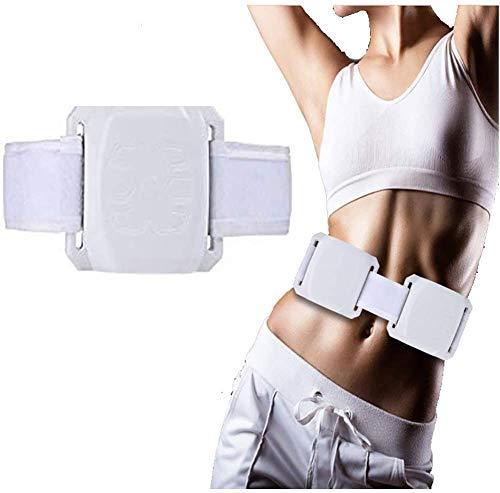 XHDMJ elektrischer Massagegürtel für Muskeltrainer Bauchtrainer Elektro-Gürtel Massage und Vibrationseffekte Massage für Gewichtsverlust für Frauen und Männer