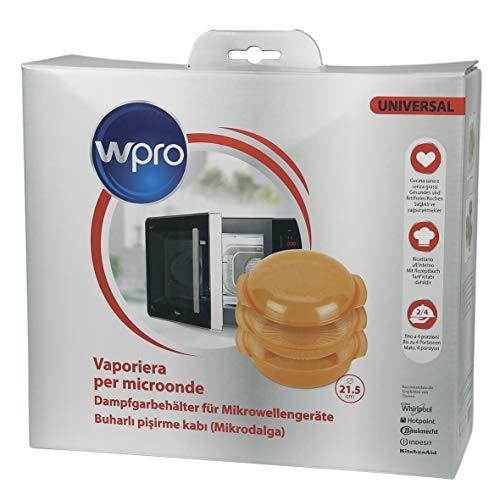 WHIRLPOOL STM 006 Zubehör / Dampfgarbehälter für die Mikrowelle (rund, 1,5 l)
