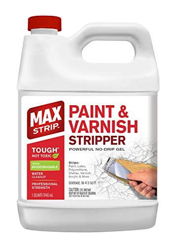 MAX Strip Paint & Varnish Stripper 1 Qt