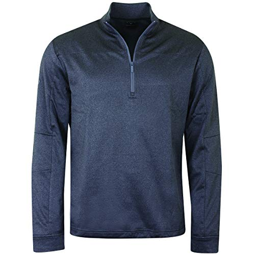 Callaway Golf 2019 Hommes Pieced Waffle 1/4 Zip Thermal...