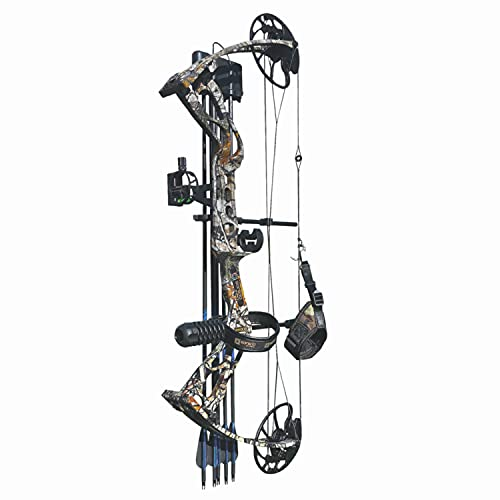 Sanlida Archery 2021 Dragon X8 Hunting Compound Bow for Adults and Teens/Limbs Made in USA/Limited Life-time Warranty