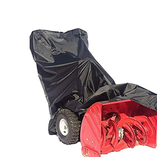 RockyMRanger Universal Snow Thrower Cover Waterproof,UV Protection,for Most Electric Two Stage Snow Blowers with Carry Bag (L)