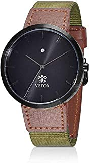 Vetor Casual Watch For Men Analog Leather - VT501M020702