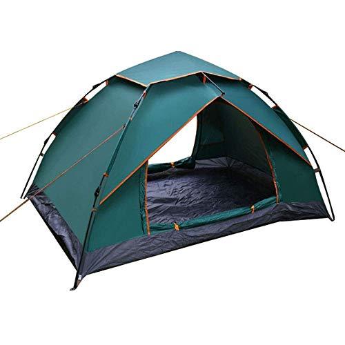 YUHT Tenda da Campeggio Familiare, Tenda familiare 4 Persone Ampio Spazio Impermeabile per Viaggi in Camper all'aperto con Porta con Cerniera e Tenda Gonfiabile a Cupola per vescica