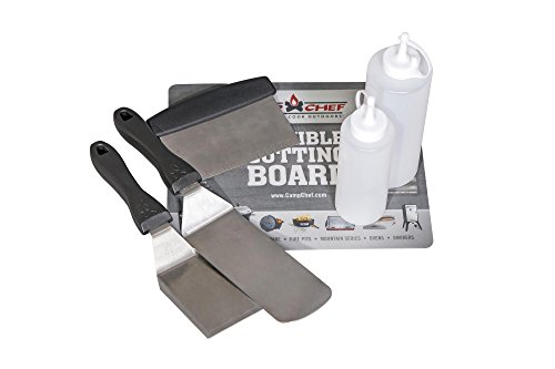 Camp Chef Flat Top Tool Kit for Flat Top Grills (FTG475, FTG600, FTG900)