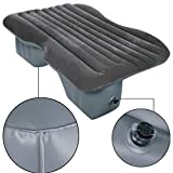Ovovo Inflatable Car Mattress with Pillow Inflatable Car Bed Seat Traveling Camping Air Mattress Air Bed