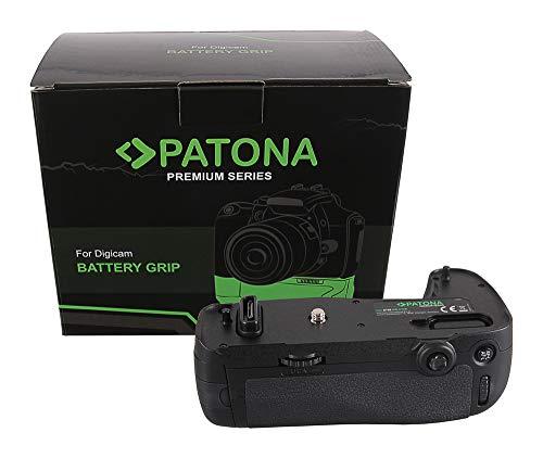 PATONA 1494 - Impugnatura per batteria Nikon MB-D16 per D750 con telecomando a infrarossi (scomparto per 1x EN-EL15 o 6x AA)