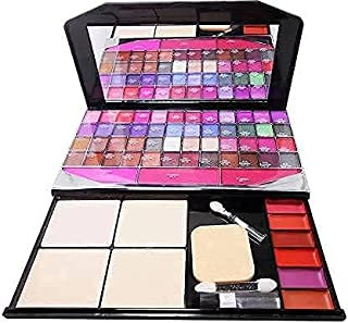 Pro Tya Color Icon All In 1 Fashion Makeup Kit For Girls & Women With 48 Eye Shadow and Palette,6 Lip Color, 4 Compact Pow...