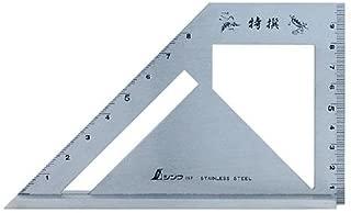 62189 シンワ 止型スコヤ 広巾40mm台付