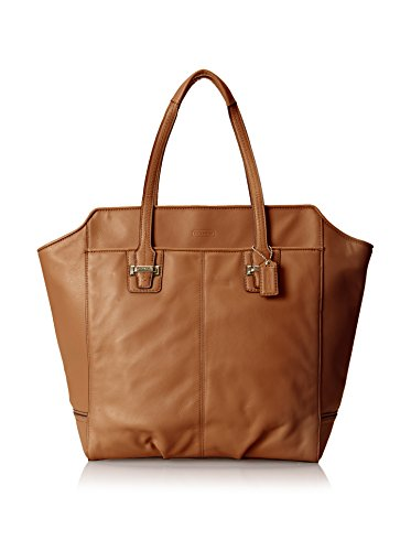 Coach Taylor Leather N/S Tote - Saddle