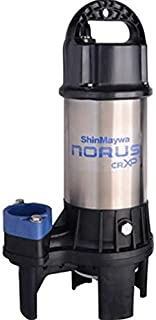 ShinMaywa 50CRXP2.75S Norus High Flow Stainless Steel Submersible Pump, 1 Horsepower