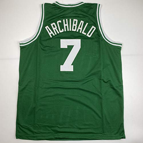 Unsigned Nate Archibald Boston Green Custom Stitched Basketball Jersey Size Men's XL New No Brands/Logos