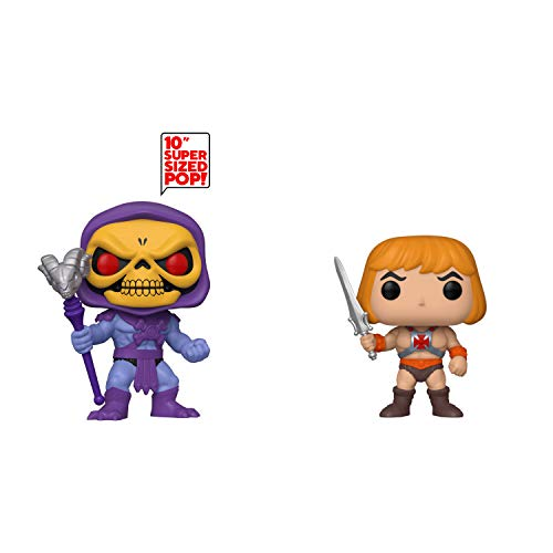 """Funko Animation: POP! Masters of The Unviverse Collectors Set 2 - 10"""" Skeletor, He-Man"""