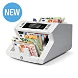 Safescan 2265 - Banknote counter for unsorted banknotes with 5 point counterfeit detection.