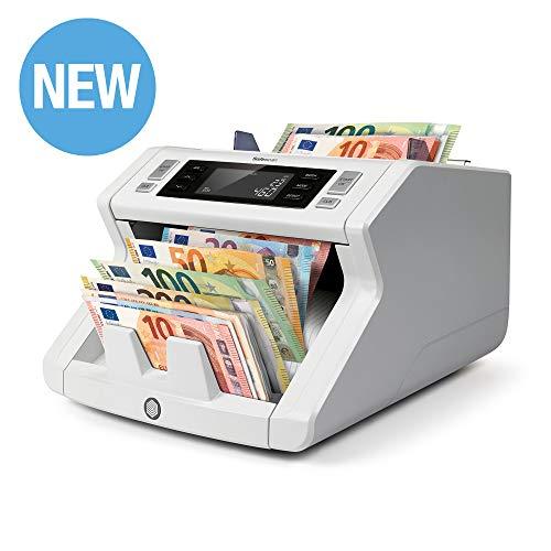 Safescan 2265 - Banknotenzähler für unsortierte Banknoten mit 5-facher Falschgelderkennung.