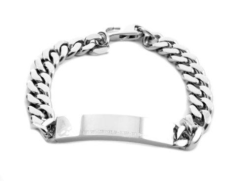 Guess Herren-Armband Edelstahl UMB81005