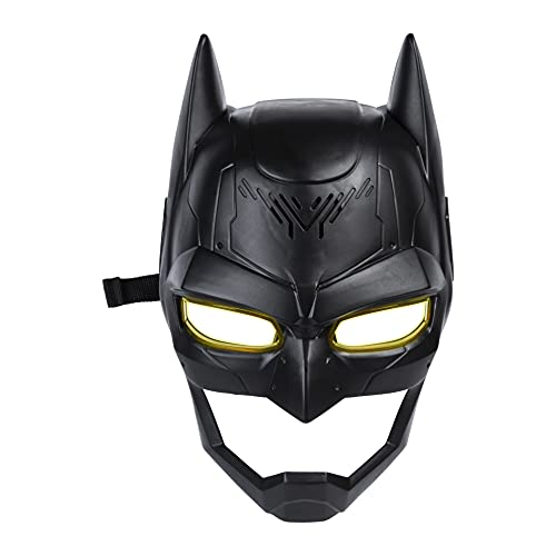 DC Comics Batman, Voice Changing Mask with Over 15 Sounds, for Kids Aged 4 and Up
