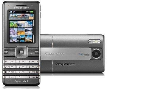 Sony Ericsson K770i Star Heaven Silver Handy